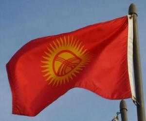 Flag of Kyrgyzstan puzzle