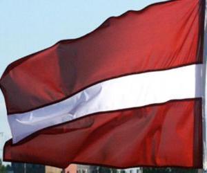 Flag of Latvia puzzle
