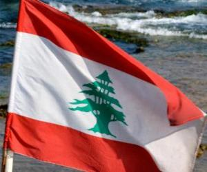 Flag of Lebanon puzzle
