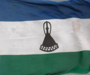 Flag of Lesotho puzzle