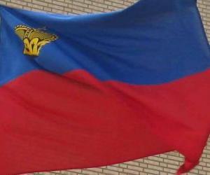 Flag of Liechtenstein puzzle