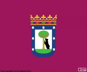 Flag of Madrid puzzle