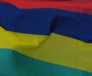 Flag of Mauritius puzzle