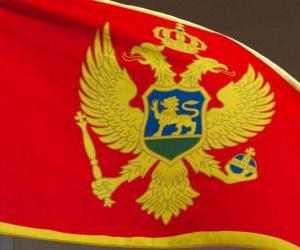 Flag of Montenegro puzzle