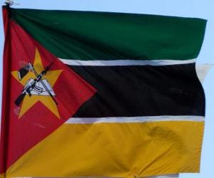 Flag of Mozambique puzzle