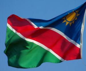 Flag of Namibia puzzle