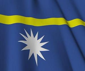 Flag of Nauru puzzle