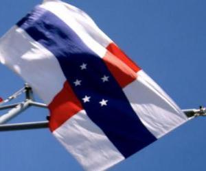 Flag of Netherlands Antilles puzzle