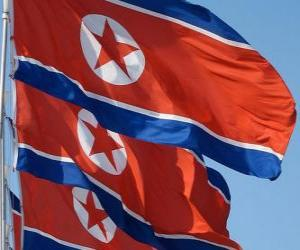 Flag of North Korea puzzle