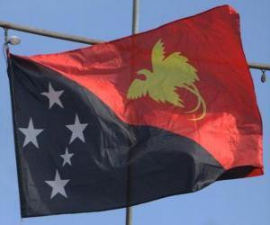 Flag of Papua New Guinea puzzle