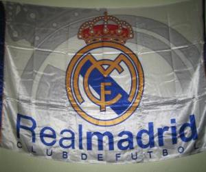 Flag of Real Madrid puzzle