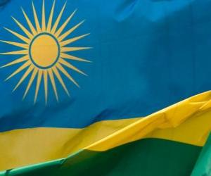 Flag of Rwanda puzzle