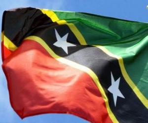 Flag of Saint Kitts and Nevis puzzle