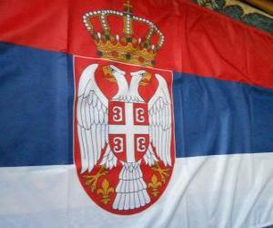 Flag of Serbia puzzle