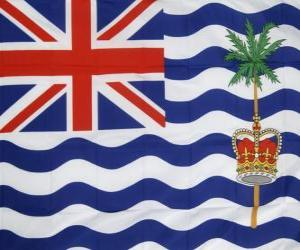 Flag of the British Indian Ocean Territory puzzle