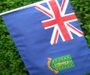 Flag of the British Virgin Islands puzzle