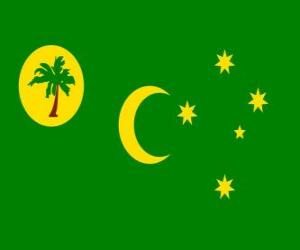 Flag of the Cocos Islands puzzle