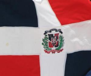 Flag of the Dominican Republic puzzle