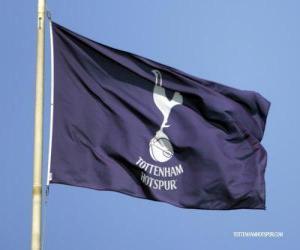 Flag of Tottenham Hotspur F.C. puzzle