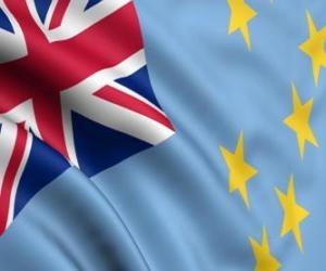 Flag of Tuvalu puzzle
