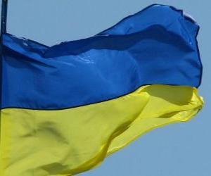 Flag of Ukraine puzzle