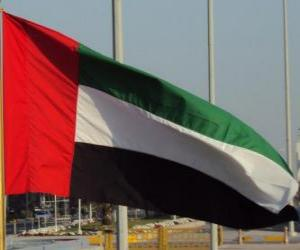 Flag of United Arab Emirates puzzle