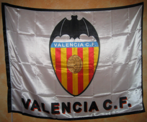 Flag of Valencia C.F puzzle