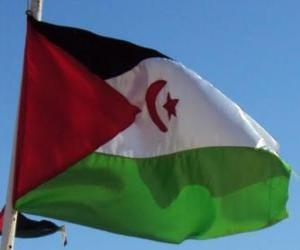 Flag of Western Sahara puzzle