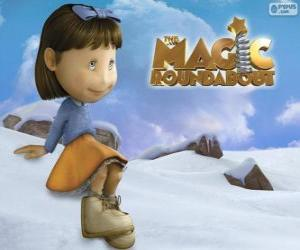 Florence, the girl from The Magic Roundabout puzzle