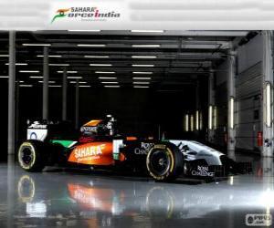 Force India VJM 07 - 2014 -  puzzle