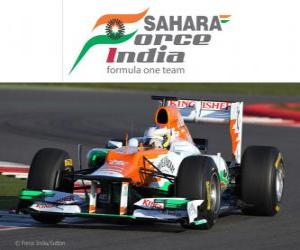 Force India VJM05 - 2012 - puzzle