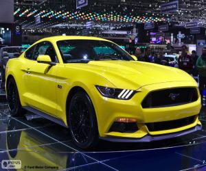Ford Mustang 2015 puzzle
