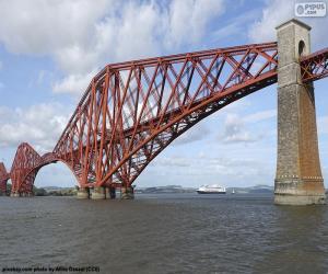 Forth Bridge, Scotland puzzle