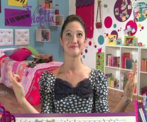 Francesca in 2 Violetta puzzle