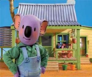 Frank is one of Australian koala brothers puzzle