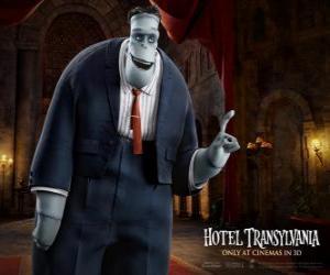 Frankenstein, uncle of Mavis puzzle
