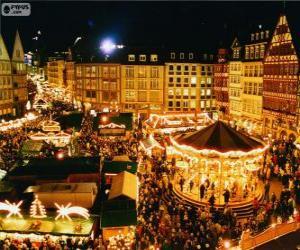 Frankfurt Christmas market puzzle