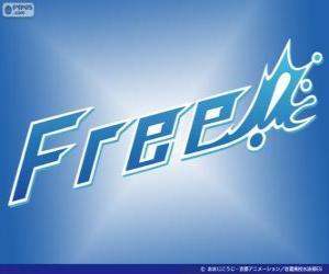 Free! - Iwatobi Swim Club logo puzzle