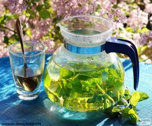 Fresh mint tea puzzle
