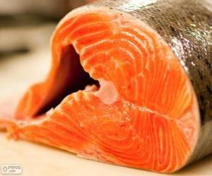 Fresh salmon puzzle