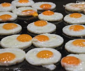 Fried eggs puzzle