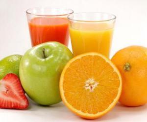 Fruit juices puzzle