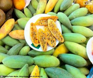 Fruits of curuba puzzle