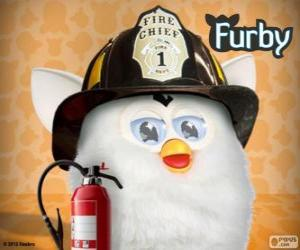 Furby firefighter puzzle