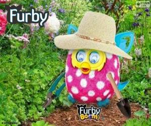 Furby gardener puzzle