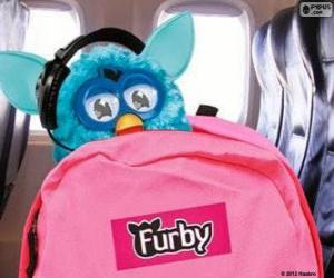 Furby goes on vacation puzzle