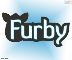 Furby logo puzzle