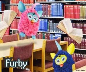 Furbys in the library puzzle