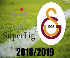 Galatasaray, champion 2018-2019 puzzle