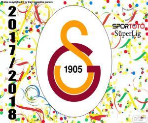 Galatasaray, Süper Lig 2017-2018 puzzle